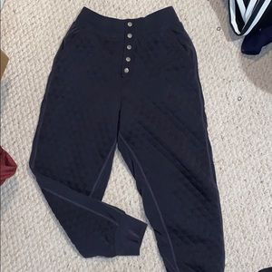 Free People movement hibernation quilted joggers